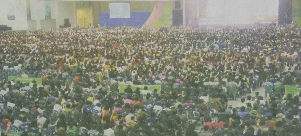 [교회복음신문]세계로 웅비하는 '두날개'