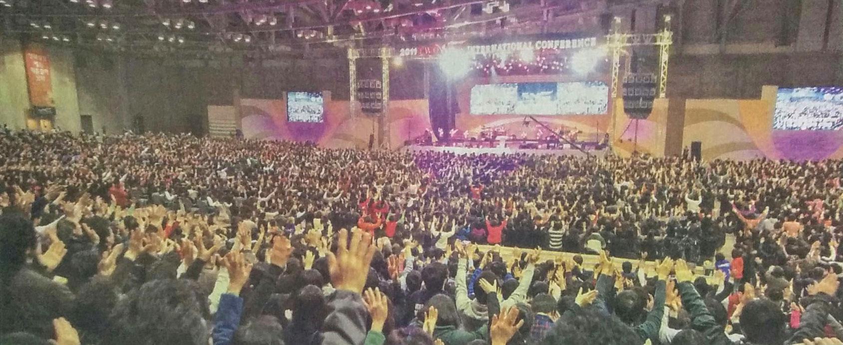 성령충만·교회성장 향한 열정-2011두날개국제컨퍼런스